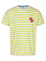 Мужская футболка желтого цвета Berger от Solid Дания в размере L