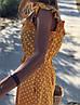 Женский хлопковый сарафан в горошек SM, LXL, фото 3