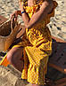 Женский хлопковый сарафан в горошек SM, LXL, фото 8