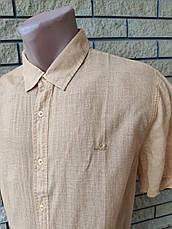 Рубашка мужская летняя коттоновая  брендовая высокого качества WELLDONE, Турция, фото 2