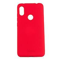 Силиконовый матовый чехол накладка Molan Cano Jelly Case для Xiaomi Redmi Note 6 Pro (red)