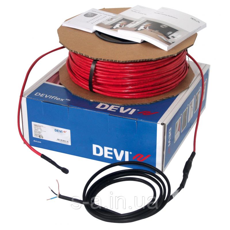 DEVIbasic 20S (DSIG-20) Нагревательный кабель одножильный 9м 140F0260