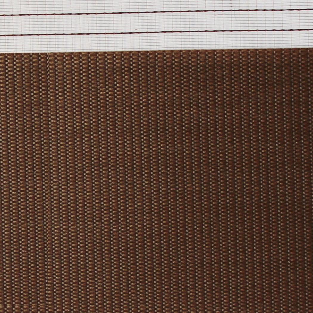 Готовые рулонные шторы Ткань ВМ-1218 Шоколад 850*1300