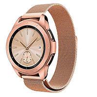 Ремешок ACCS для Samsung Watch 42 mm/Gear S2/Gear Sport Milanese Rose Gold (568924)