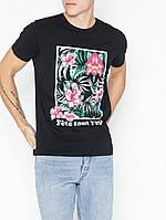Мужская футболка черная Colo ss от Solid Дания в размере XXL