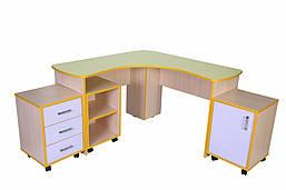Мебельный уголок учителя в сборе для НУШ