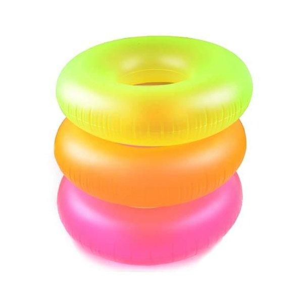 "Надувной круг ""Neon Frost Tubes"" Intex, 91 см."
