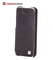 Чехол для телефона HOCO Duke book leather case for iPhone 5C, black (HI-L042)