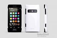 Чехол-накладка для телефона ROCK Colorful back cover for Nokia X7, white