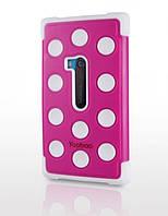 Силиконовый чехол для телефона Yoobao 3 in 1 Protect case for Nokia 920, rose (PCNOKIA920-3RS)