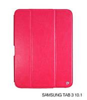 Чехол для планшета Samsung Galaxy Tab 3 10.1 (GT-P5200 / GT-P5210) HOCO Crystal folder protective case rose