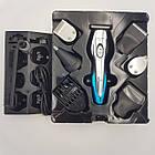 Аккумуляторная машинка для стрижки волос ProGemei GM-562, 11 в 1, фото 3