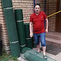 20х20х2мм - пластиковая сетка  (2х30 метров) - для ограждений, фото 2