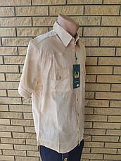 Рубашка мужская летняя коттоновая  брендовая высокого качества WARRANT, Турция, фото 3