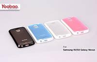 Силиконовый чехол для телефона Yoobao 2 in 1 Protect case for Samsung i9250 Galaxy Nexus, blue (PCSAMI9250-BL)
