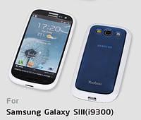 Силиконовый чехол для телефона Yoobao 2 in 1 Protect case for Samsung i9300 Galaxy S III, blue (PCSAMI9300-BL)