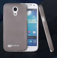 Пластиковый чехол-накладка для телефона Yoobao Crystal Protect case for Samsung i9190 Galaxy S IV Mini, black (PCSAMI9190-CBK)