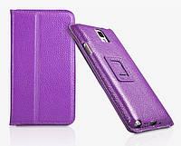 Чехол-книжка для телефона Yoobao Executive leather case for Samsung N9000 Galaxy Note 3, purple (LCSAMN9000-EPL)