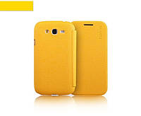 Чехол-книжка для телефона Yoobao Slim Leather case for Samsung i9082 Galaxy Grand Duos, yellow (LCSAMI9082-SYL)