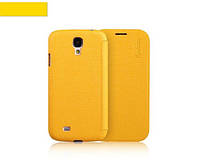 Чехол-книжка для телефона Yoobao Slim Leather case for Samsung i9500 Galaxy S IV, yellow (LCSAMS4-SYL)