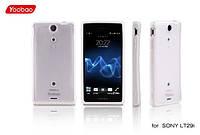 Силиконовый чехол для телефона Yoobao 2 in 1 Protect case for Sony Xperia LT29i, white (PCSONYLT29I-WT)