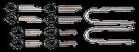 Набор 11-826 Neo для демонтажа автомобильной аудиоаппаратуры 18 предметов