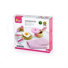 Игровой набор Viga Toys Маленький повар розовый