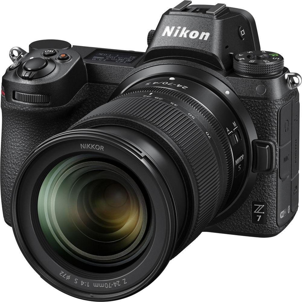 Фотоапарат Nikon Z7 kit 24-70 f4 Гарантія виробника ( на складі )