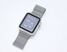 Apple Watch А1553 38mm Silver Aluminium Case with Milanese Loop Band