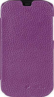 Чехол-книжка для телефона Melkco Book leather case for HTC One, purple (O2O2M7LCFB2PELC)