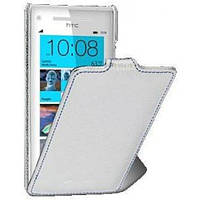 Чехол-флип для телефона Melkco Jacka leather case for HTC 8S/Rio, white (O2WP8SLCJT1WELC)