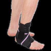 Бандаж компрессионный на голеностопный сустав Т-8691, Тривес Evolution