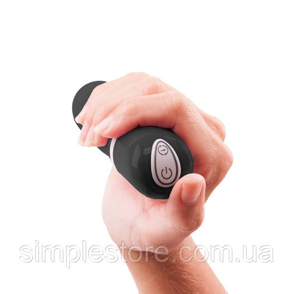 Мини вибратор для стимуляции клитора, вагины, точки G B Swish  bdesired Deluxe Black