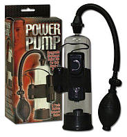 Вакуумная помпа Penis Pump с вибростимуляцией и пультом ДУ 564532