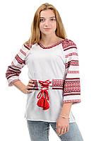 """Женская рубашка вышиванка """"Мальва"""", фото 1"""
