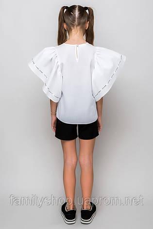 Нарядная школьная блузка на девочку подростка, фото 2