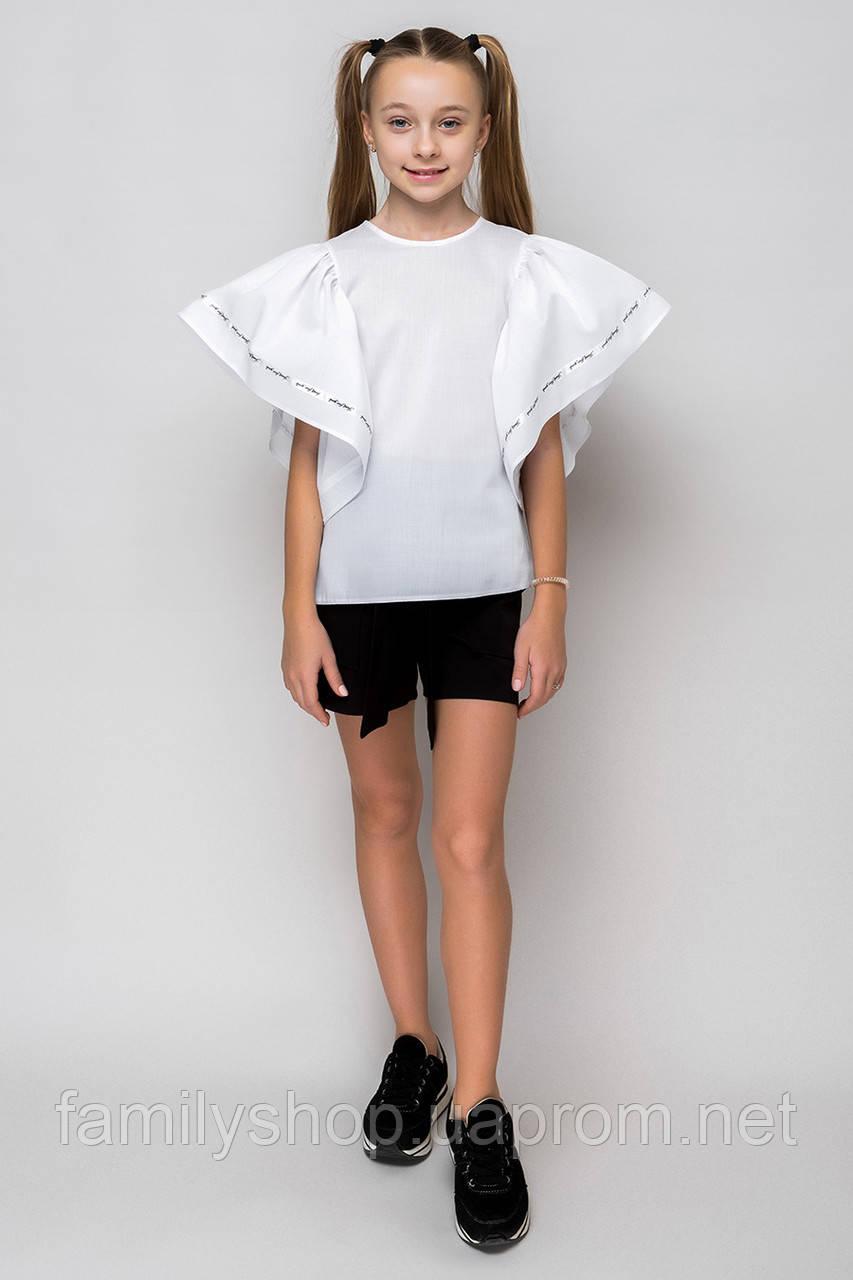 Нарядная школьная блузка на девочку подростка