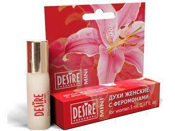Духи женские с феромонами Desire Pheromone 5 мл, №12. с ароматом Lacoste pour femme (Lacoste) на масляной основе