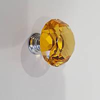 Ручка кнопка з кристалом код. 0876