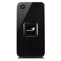 Чехол для телефона MonCarbone MagnetForce back cover for iPhone 4, midnight black (MF002MI)