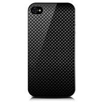Чехол для телефона MonCarbone Sheath back cover for iPhone 4, midnight black (SH002MI)