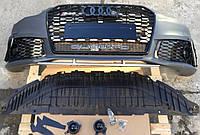 Передний бампер Audi A6 C7 (11-14) в стиле RS6