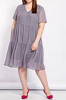 Шифоновое платье свободного кроя, разные расцветки с 48-98 размеры, фото 1