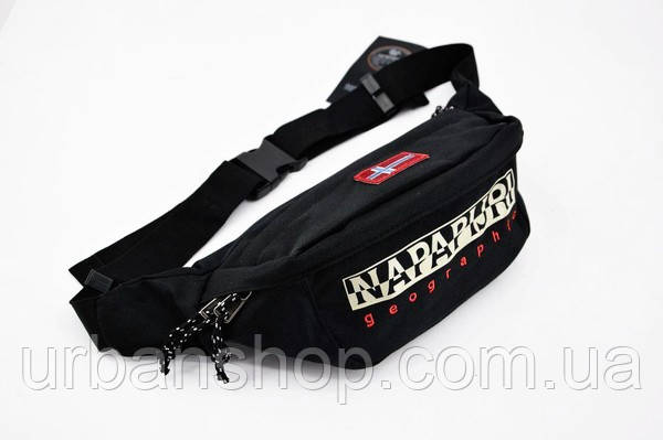 Поясна сумка Napapijri black NAPAPIJRI BLACK