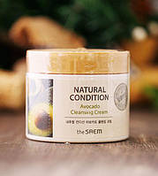 Крем для очищения кожи с авокадо THE SAEM NATURAL CONDITION AVOCADO CLEANSING CREAM