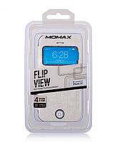 Чехол-книжка для телефона Momax Flip View case for iPhone 5C, white (FVAPIP5CW)