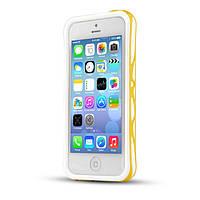 Чехол-бампер для iPhone 5C, yellow itSkins (APNP-VENUM-YELW) Venum 2.0 bumper