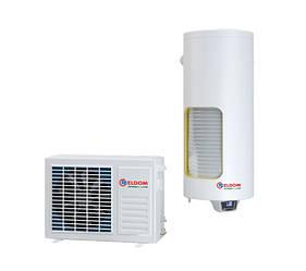 Теплонасосный водонагреватель ELDOM HPS120S 2 kW с теплообменником 1/2