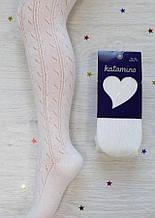 Колготи дівч Katamino K-33010, 11-12р білий