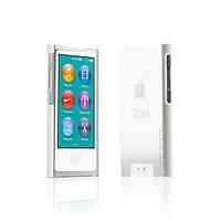 Пластиковый чехол-накладка Tunewear Eggshell cover case for iPod Nano 7G, clear white (NN7-EGG-SHELL-01)